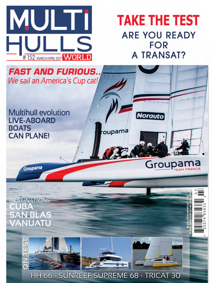 MultiHulls World  January 2017 - HH66 Review