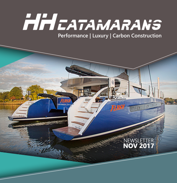 HH Catamarans Newsletter November 2017