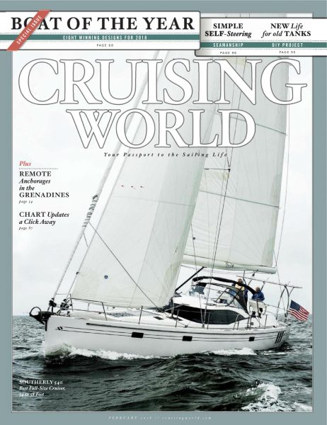 Cruising World January 2018 - HH55 Boat of the Year