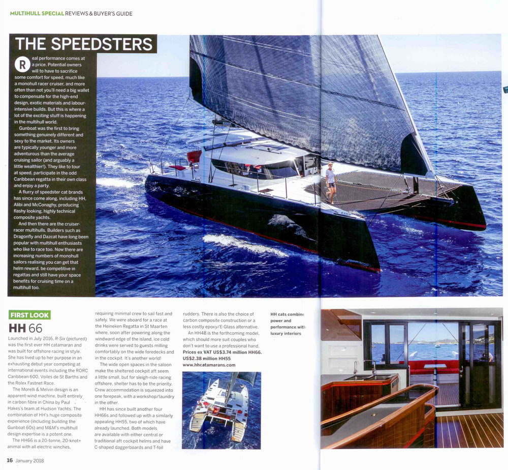 Yachting World HH Catamarans