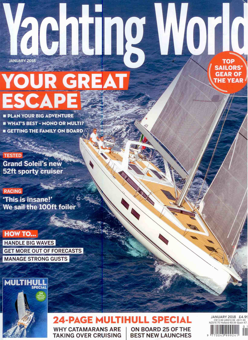 Yachting World  - January 2018 Multihull Special