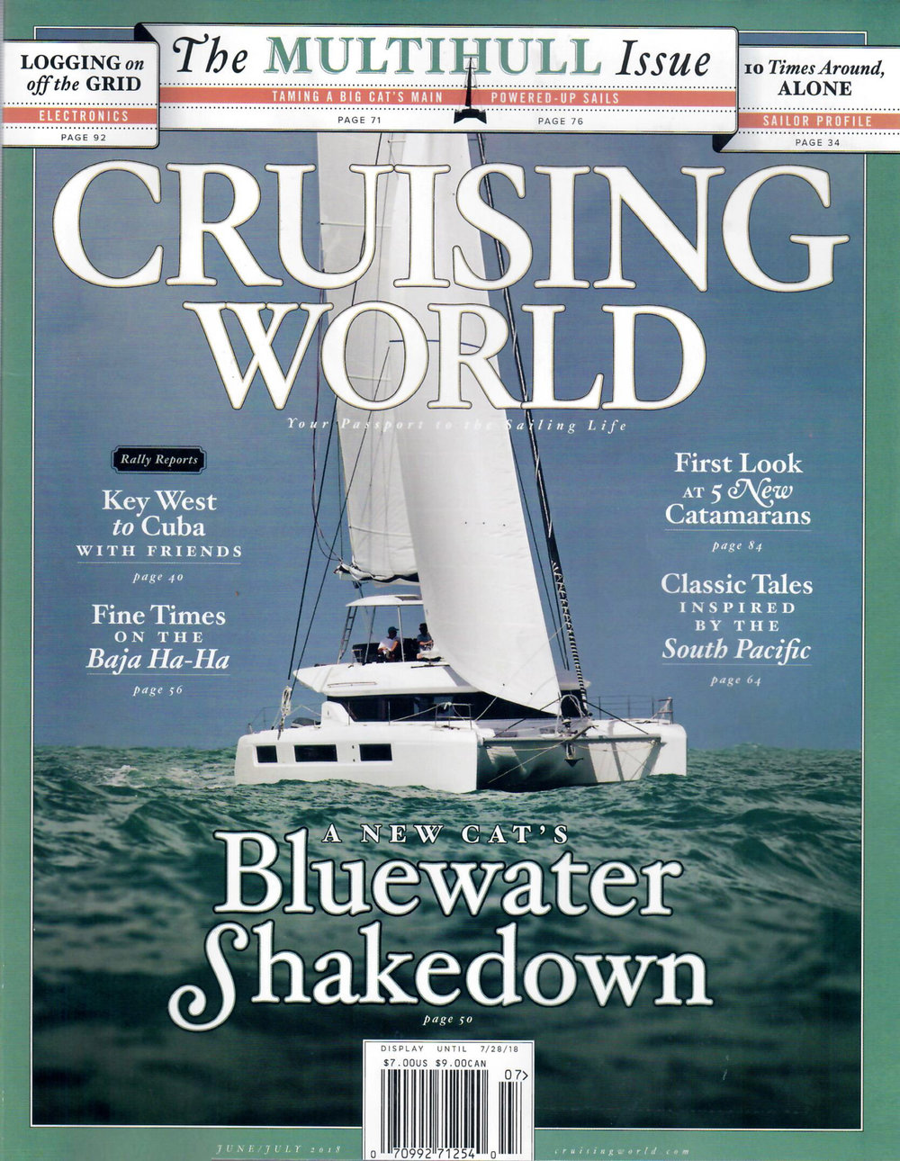 Cruising World  - June/July 2018