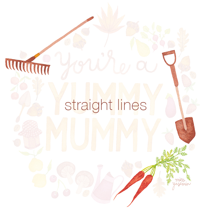 miss yasemin straight line objects