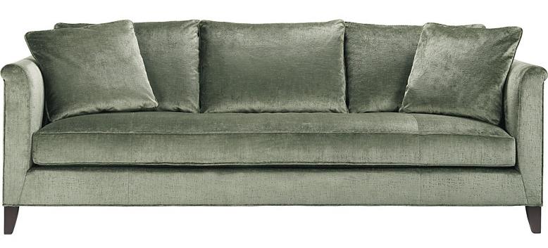 "A. Designer Sofa -  Laura Kirar, ""Medida Sofa""   Manufacturer:  Baker Furniture    Retail Representative:  KDR Designer Showrooms"