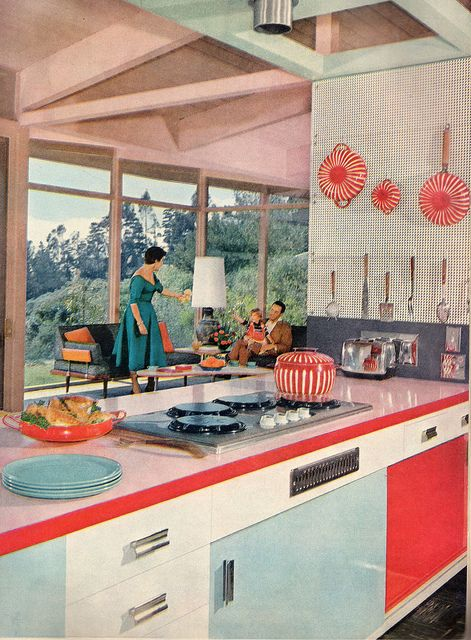 American kitchen design through the decades c m interiors for Interior design styles by decade