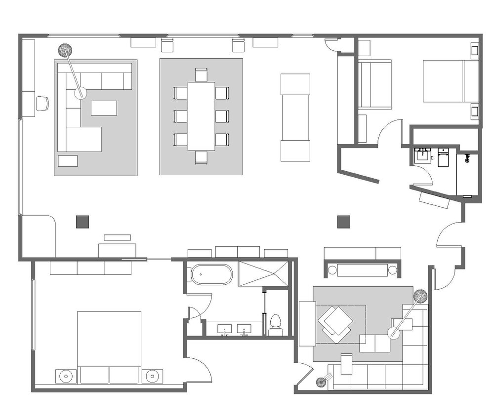Example Floor Plan Drawing