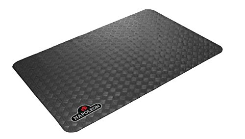Keep your outdoor living area stylish, clean and beautiful! - Protect your deck and patio from oil and grease damage. This fire resistant mat is stylish and easy to clean.*Not recommended for use on composite decking.