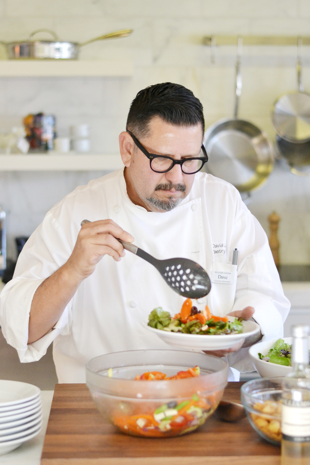 How to make amazing salads from a Williams-Sonoma chef! From asavvylifestyle.com