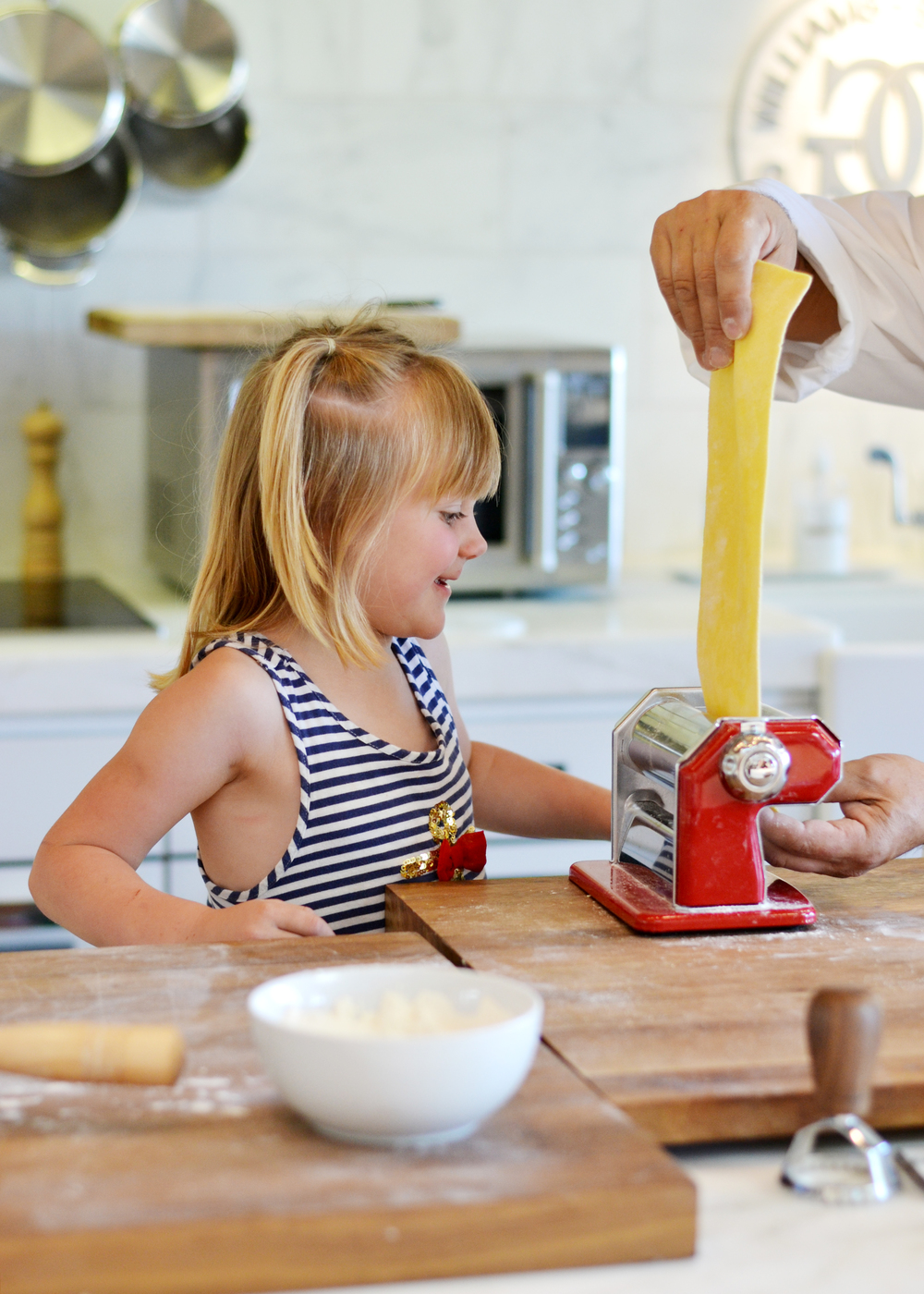 Junior chef classes at Williams-Sonoma | asavvylifestyle.com