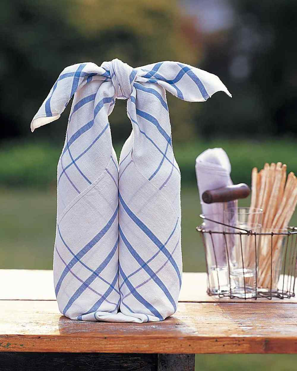 Picnicing like a pro - great tips and recipes for summer picnics! | asavvylifestyle.com [Photo: Martha Stewart Living]
