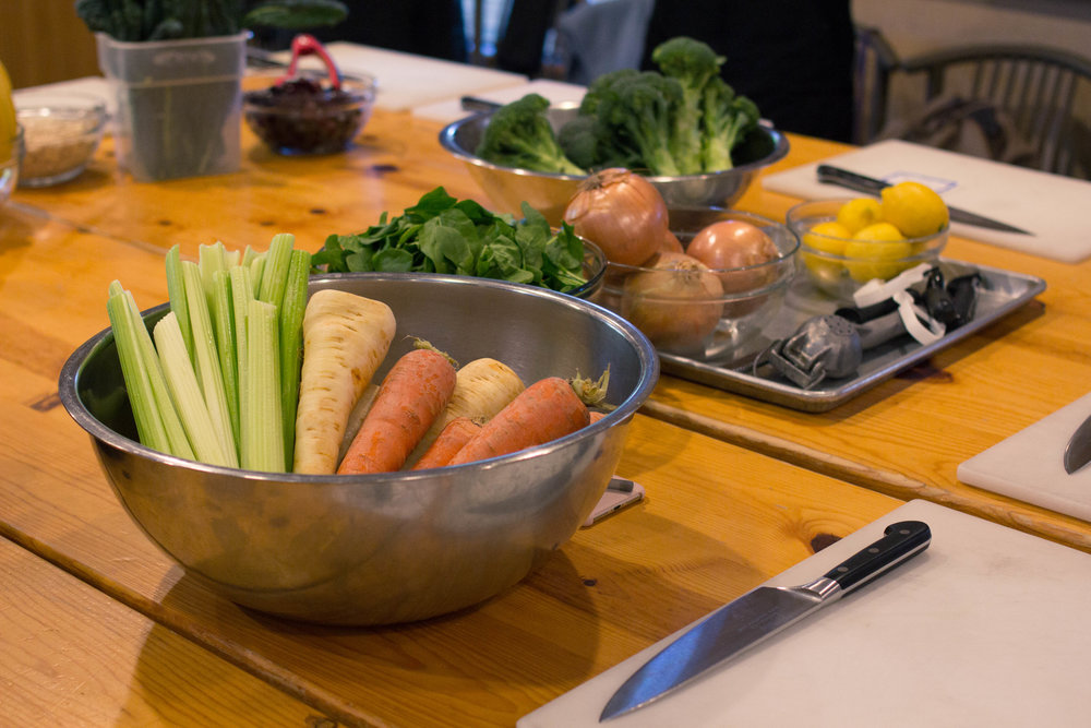 Spring Detox Cooking Class at Ramekins Culinary School
