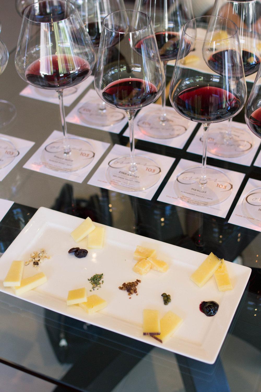 Wine Pairing at Corner 103