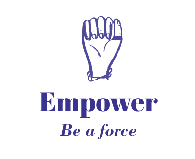 Empower Icon with fist in the air