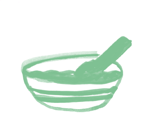 Illustration of a bowl