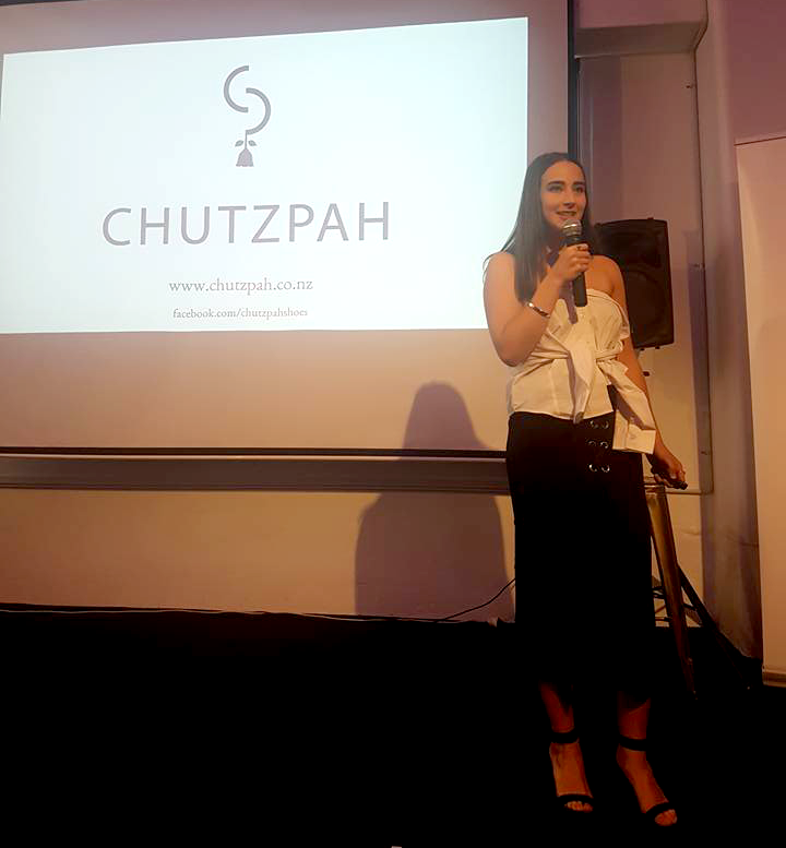 Hannah Presenting Chutzpah