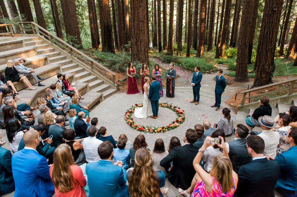 Sarah + Matt | UC Berkeley Botanical Gardens | Berkeley, CA | As seen on Every Last Detail Blog