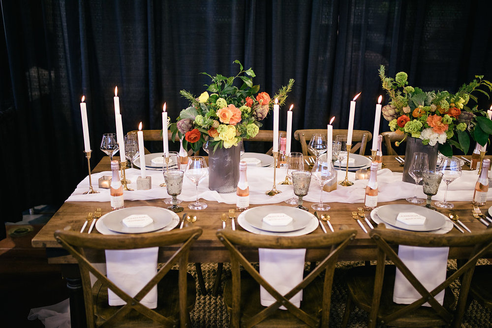 summer tablescape by Danielle Roe Events