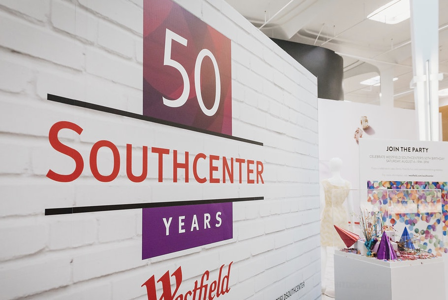 Westfield Southcenter 50 years anniversary party