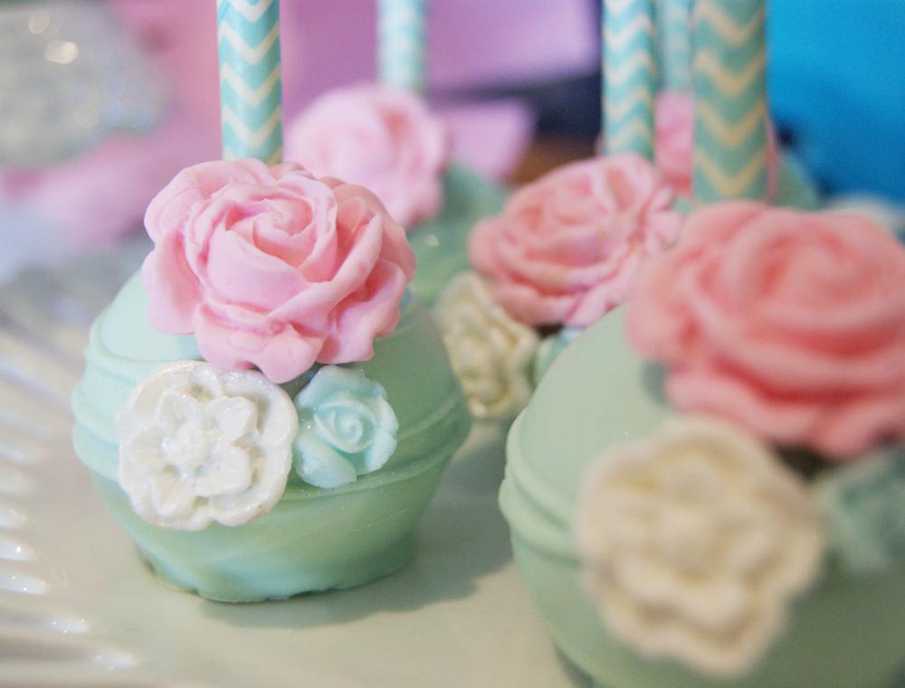 Cake pops de vainilla