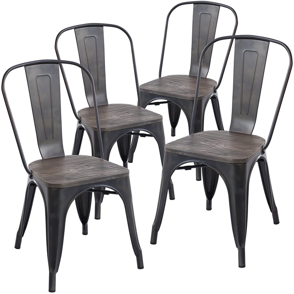 Dining Chairs. Poly and Bark. Find them HERE:  https://amzn.to/2JT7sch