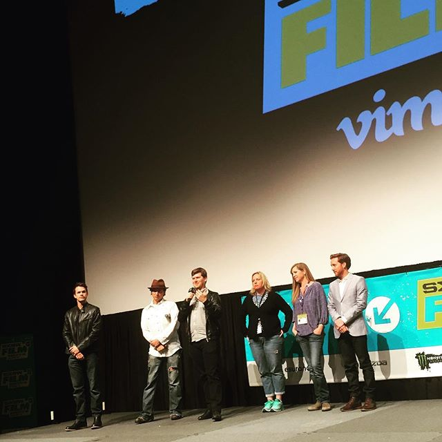 Thanks to everyone for coming to the #Transpecos #worldpremiere at #SXSW2016!