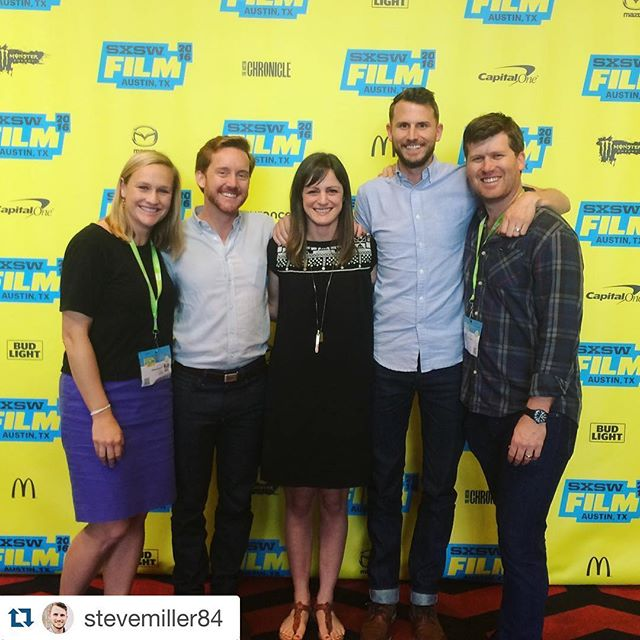 Nice moment from our final #Transpecos screening at #SXSW2016!  #Repost @stevemiller84 ・・・ Got to see @transpecosmovie yesterday on the big screen and was blown away. Congrats to my dudes @gkwedar and @clintbentley on making a gorgeous, fantastic, important movie.