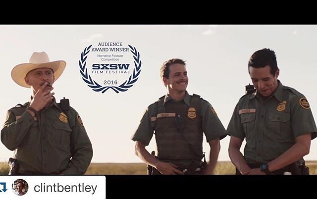 Team #Transpecos is all smiles, thanks to the badass @sxsw audiences! #AudienceAward #SXSW2016 #Austin #texas  #Repost @clintbentley ・・・ Insanely excited that @transpecosmovie won the audience award at #sxsw2016!!! Thank you to everyone who came out to see it.