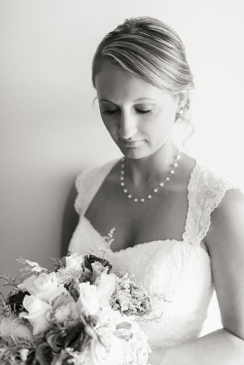 A bride waits her big moment