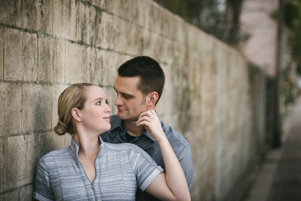 Engagement Photos in downtown St Augustine