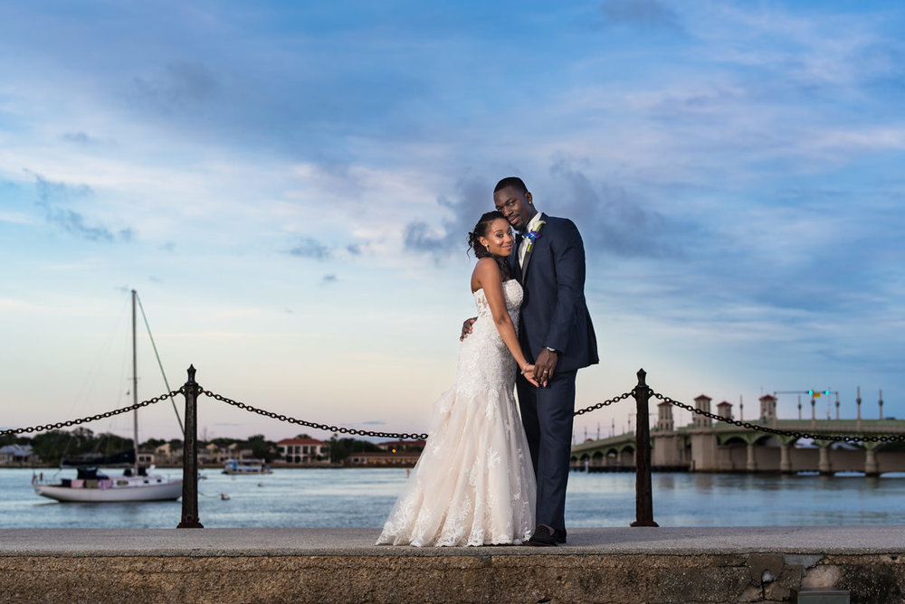 St Augustine Wedding Portrait
