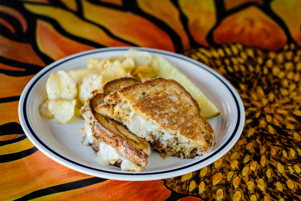 Planet Sarbez Grilled Cheese