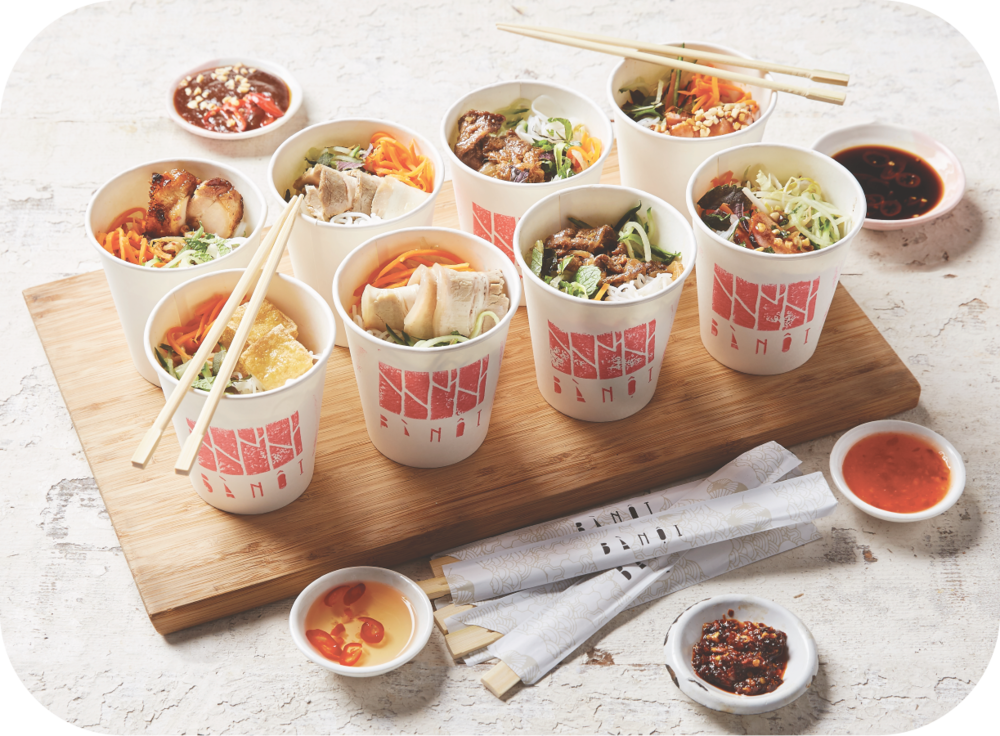 #4 VERMICELLI CUPS - 20 x assorted vermicelli cupscaters for 8 - 10 people$145