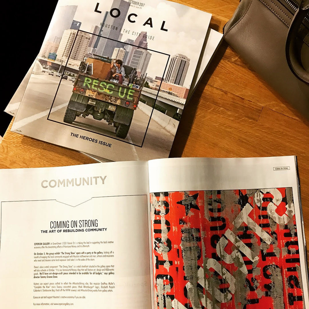 LOCAL HOUSTON MAGAZINE - OCTOBER ISSUE 2017