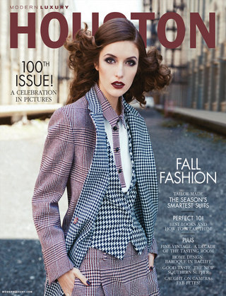 MODERN LUXURY MAGAZINE - HOUSTON
