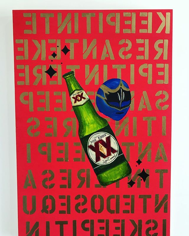 #tbt when I painted live for @dosequis ✨✨✨#dosequis #luchador . . . . . . . #events #livepainting #artlife #popart #inversion #whatdoesitsay #beer #bottle #luchadores #thrillist @thrillist @fresharts #htx #design #style #luxury #entrepreneur #live #life #happy #keepitinteresante