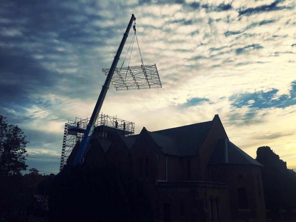 Dunbar Hire - Keder Roof XL Roof