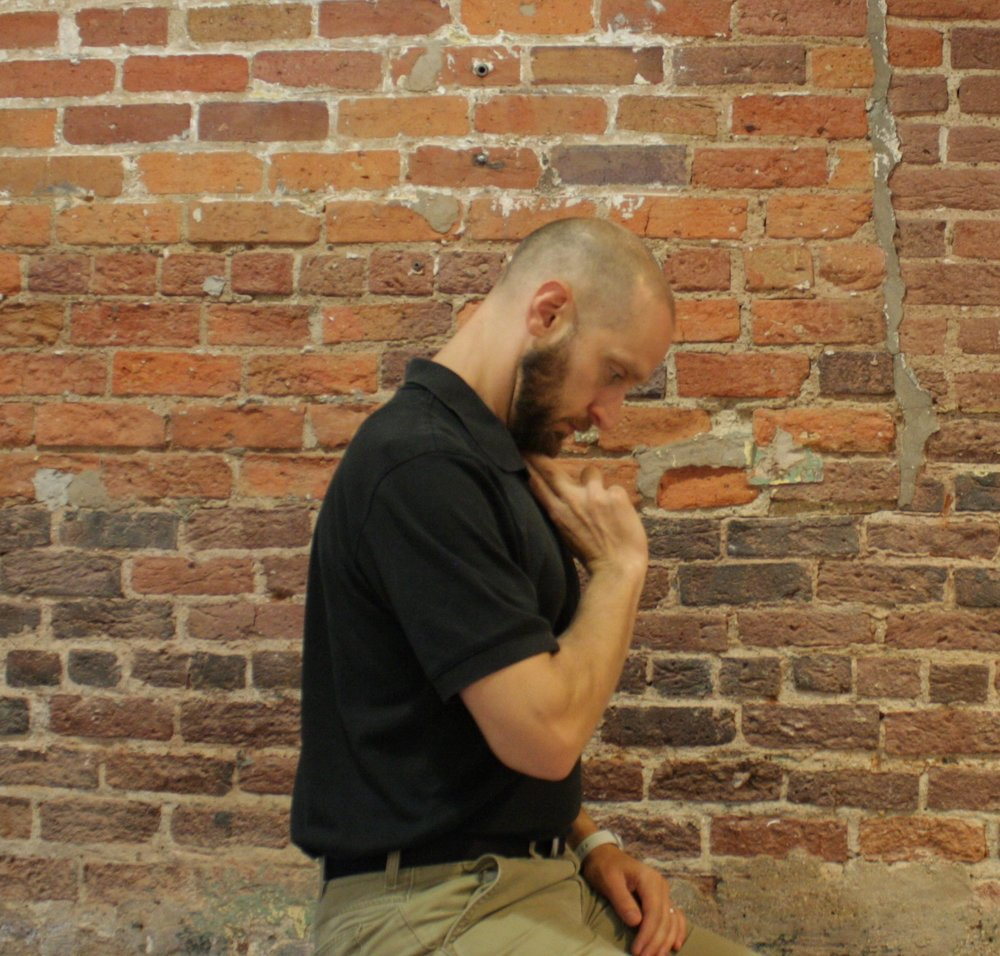 Assess your upper neck mobility by attempting to bring your chin to chest. They should be no more that 2 fingers apart.