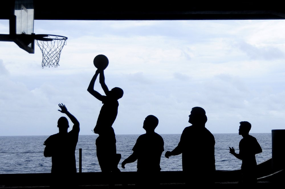 A pick-up game of basketball can be surprisingly more challenging on your fitness than you may recall from years ago.