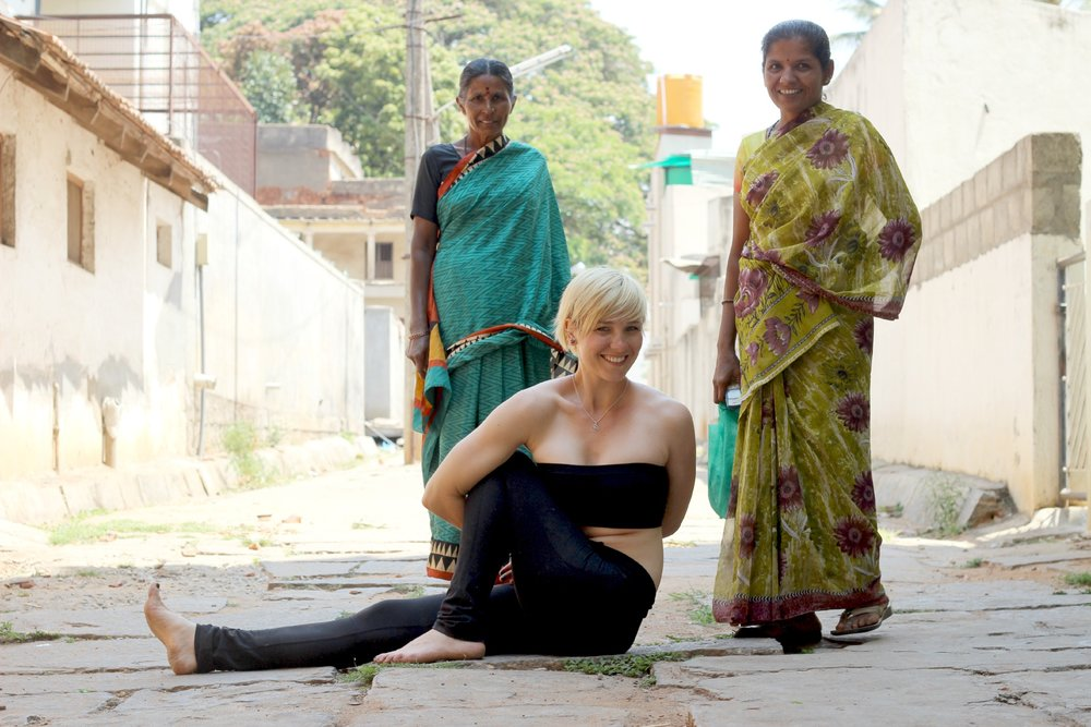 Her goal: to cure India of its piriformis syndrome epidemic.
