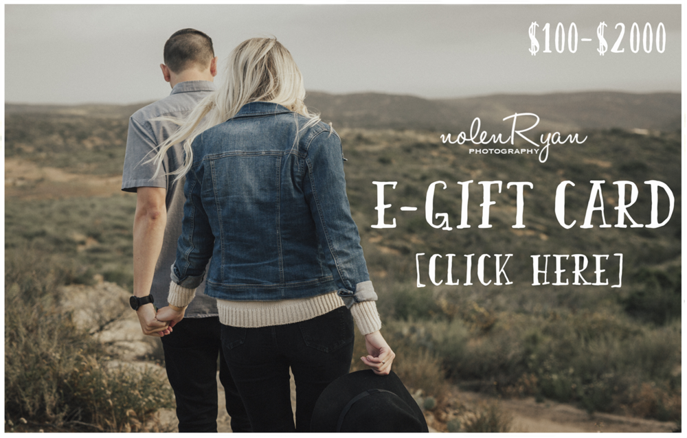 new / egift cards - Choose a value between $100 - $2000. Sessions start at $100. Apply,or pay in full with your egift card. Perfect gift for every occasion!