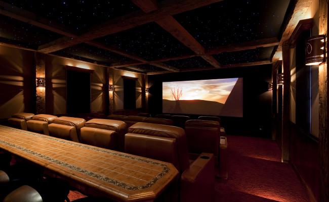 Residential Home Theaters Branson Design Group