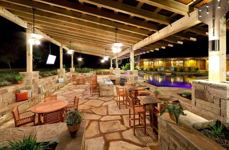 Outdoor Entertainment Designs outdoor lighting control — branson design group
