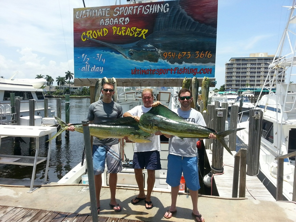 Fort lauderdale sportfishing fishing charter boat for Florida fishing vacations