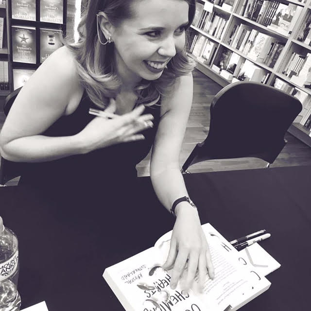 Signing for my friends and family made my heart swell.