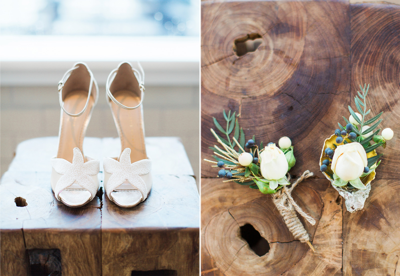 Wedding Shoes Flowers Love Note