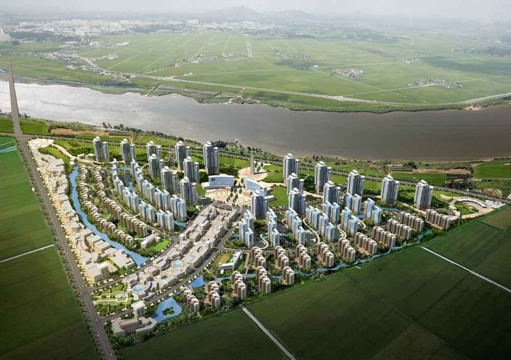 중국 주성시 마스터플랜(2010)