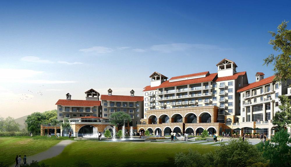 내몽고 대영 골프 리조트 호텔(2007)