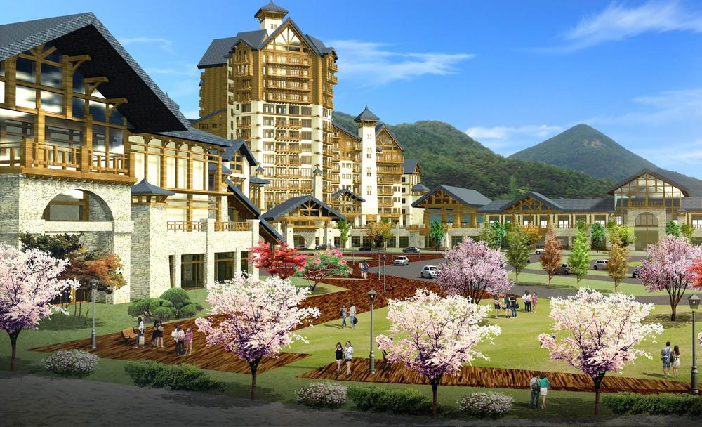 중국 북경시 평곡구 위양리조트 호텔(2012)