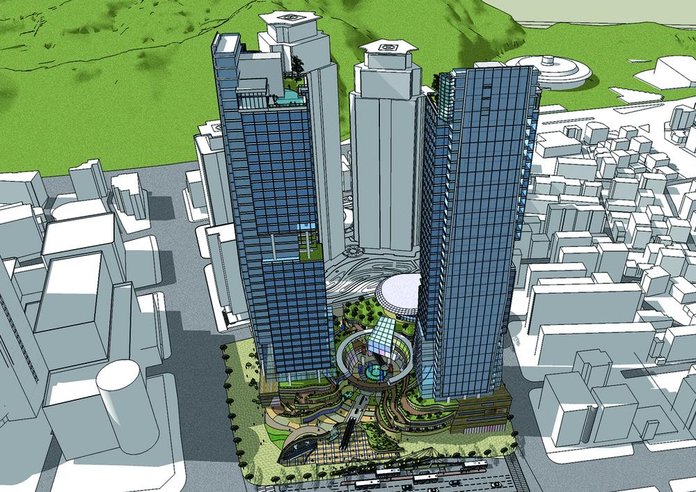 남부터미널 복합건축물 개발계획안(2009)