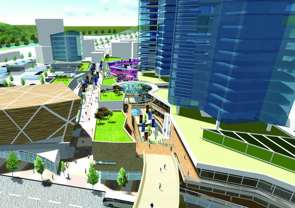 삼척 복합시설 개발계획(2012)